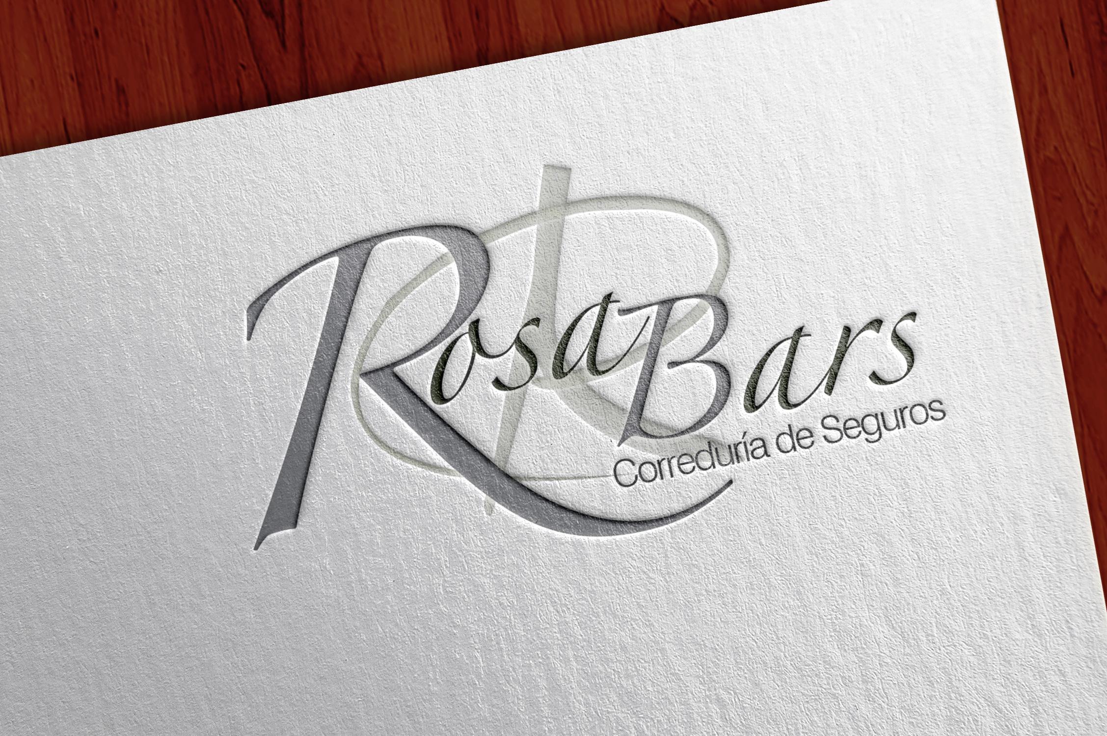 Rosa Bars Diseño Logotipo