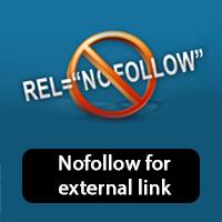 como añadir a todos los links externos nofollow